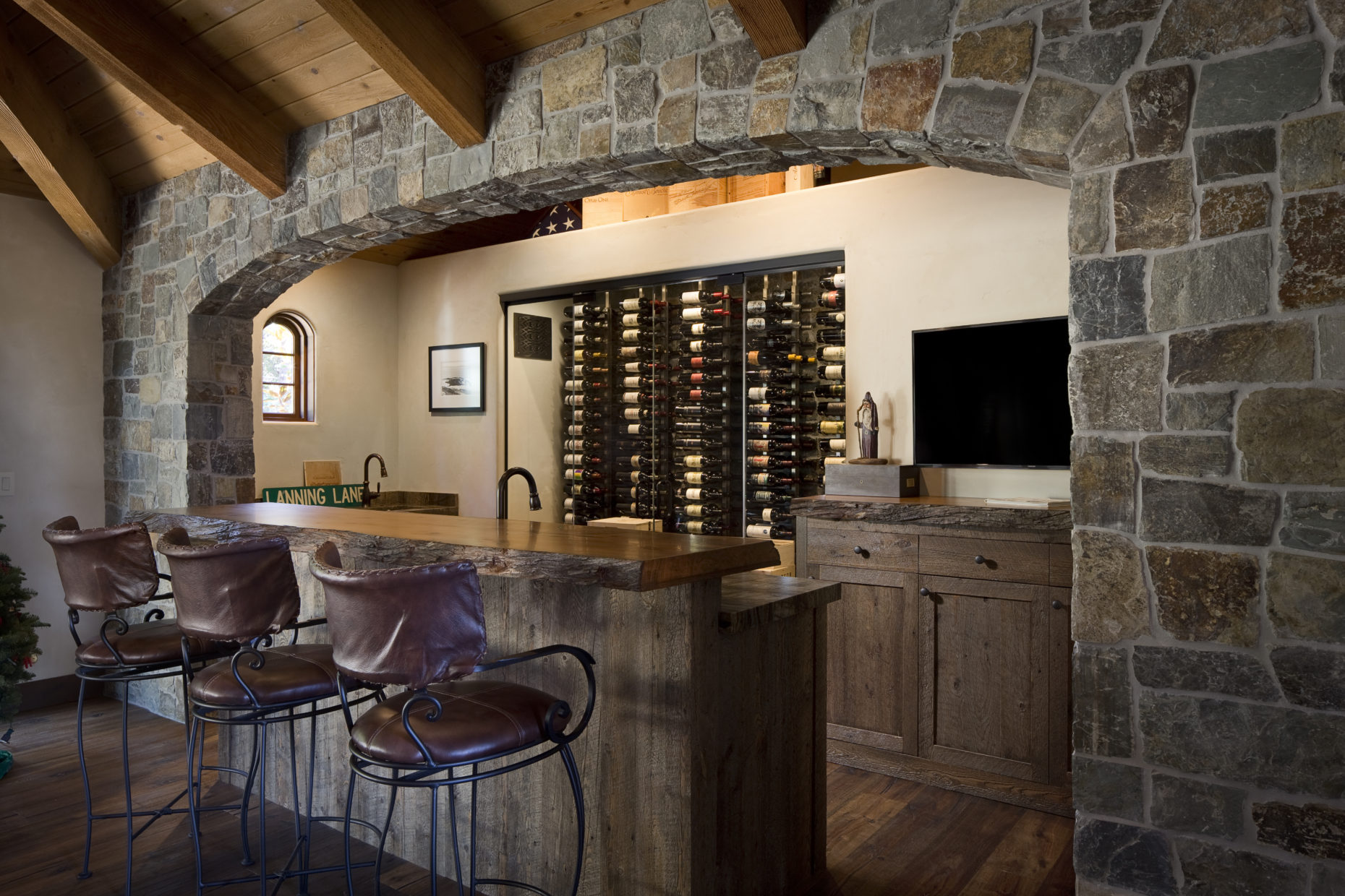 Custom Home Wine Bar – McNickle Construction